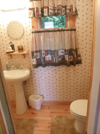 Nelson's Cottages: Bathroom