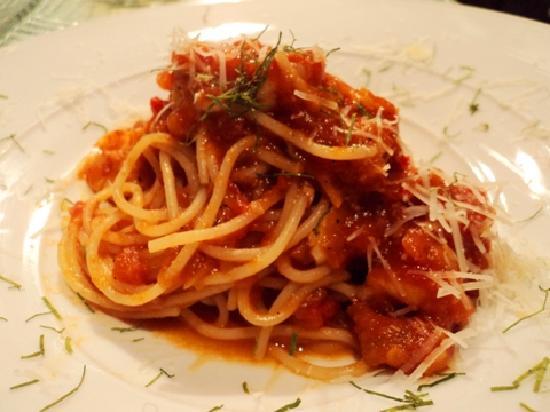 Giorgio Italian Ristorante Pizzeria: spaghetti Al Gamberi