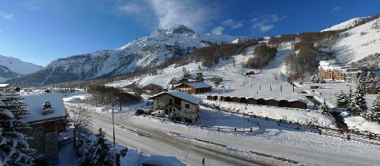 Val d'Isère, Frankrike: The view from our room