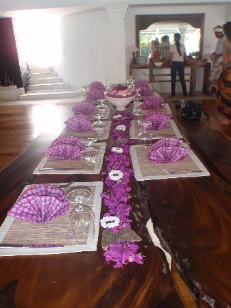 Escape Haven Bali: Fine dining...
