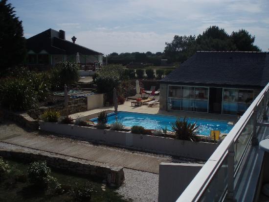 Hotel L'Hippocampe: Utsikt från balkongen