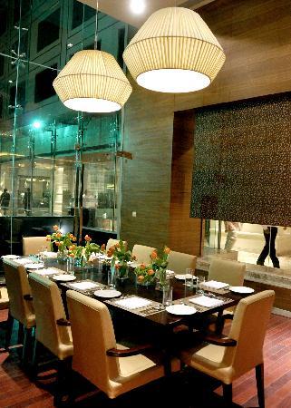 Okra - chef crafted food at Jaipur Marriott