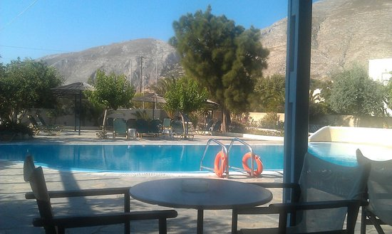 Hotel Anastasia Santorini: Hotel Anastasia Pool Area