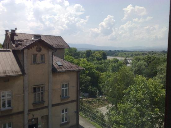 Panorama Hotel: view from room's window