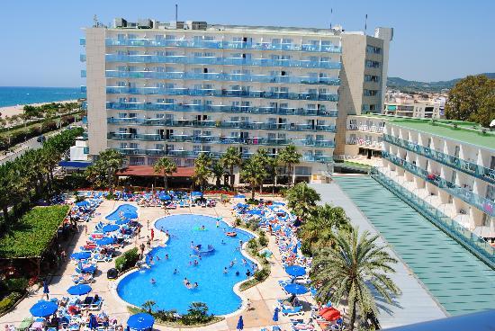 Golden Taurus Park Resort : View from balcony