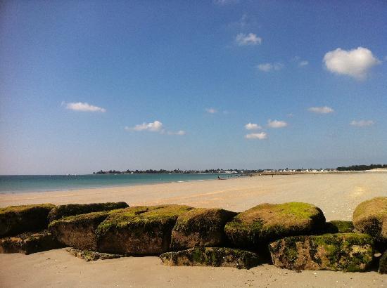 Hôtel Kerloc'h Gwen : la plage toute proche