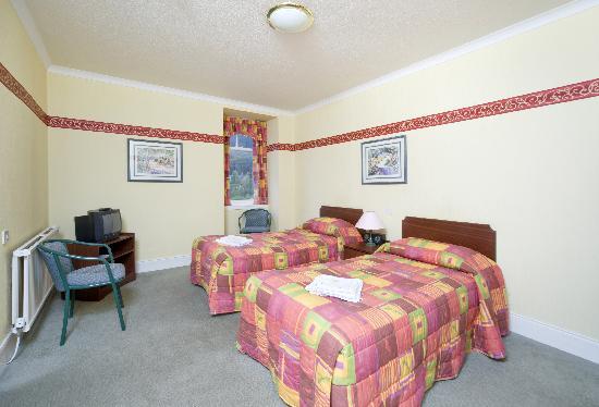 Standard room at the Bay Highland Hotel