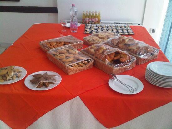 Hotel Chelia: petit dejeuner