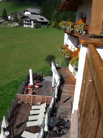 Obereggen, Italia: Blick vom Balkon