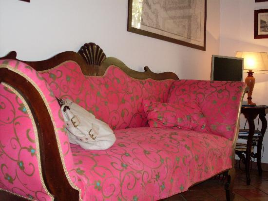 Casajanca: il salotto nella hall