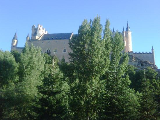 Hotel Alcazar -- Segovia : Vista desde la habitacion
