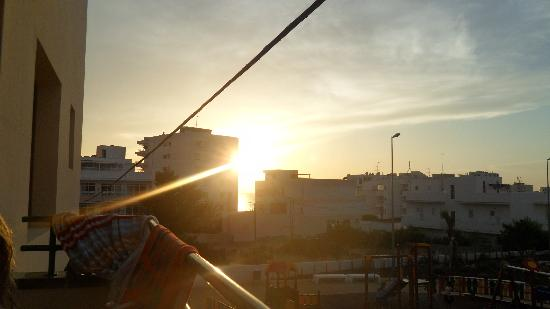 Mar i Vent Apartments : Usikt från balkongen