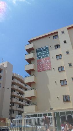 Mar i Vent Apartments : Hotellet