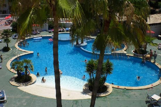 Aparthotel Rosa del Mar: Pool area
