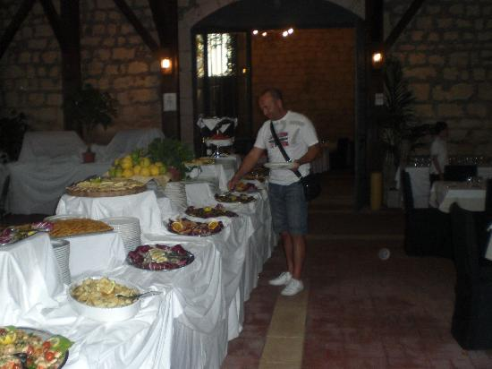 Donnalucata, Italia: il buffet