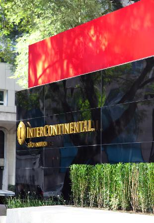 InterContinental Sao Paulo: Hotel Entrance