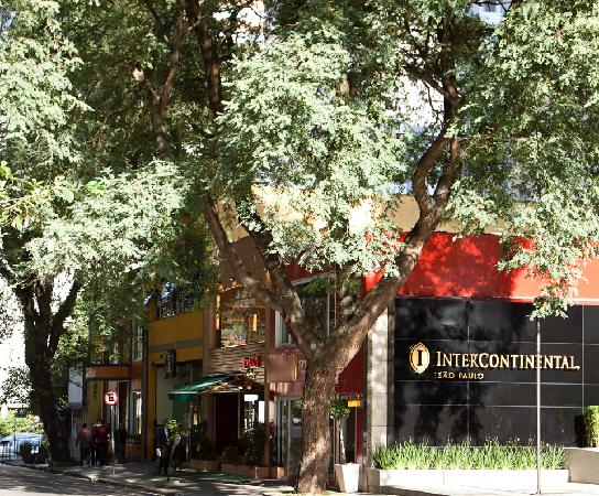InterContinental Sao Paulo: Hotel neighbourhood