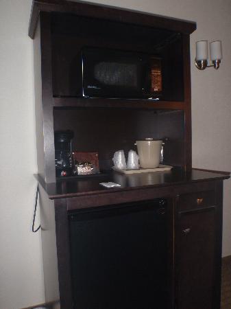 Holiday Inn Express Hotel & Suites Ottawa Airport: Room - Microwave/Fridge