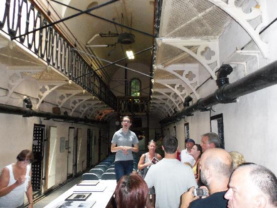 Old Jail Museum: Tour in cell section