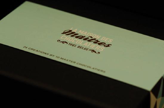 La Maison des Maitres Chocolatiers Belges: Gift