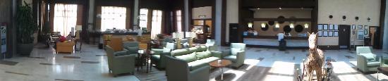 Otium Eco Club Side : Récéption de l'hotel