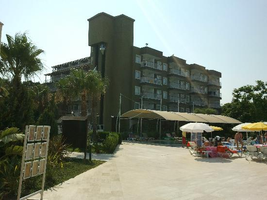Otium Eco Club Side : vue de l'hotel