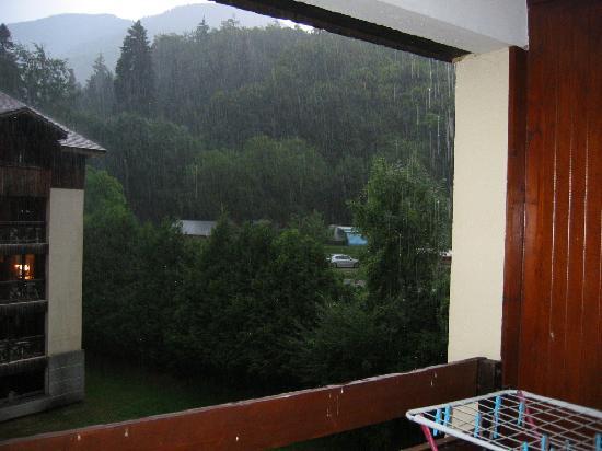 Residence Cybele : vue du balcon