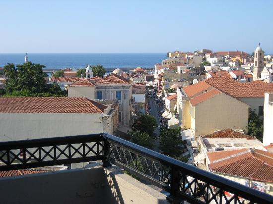 أركادي هوتل: View from the terrace