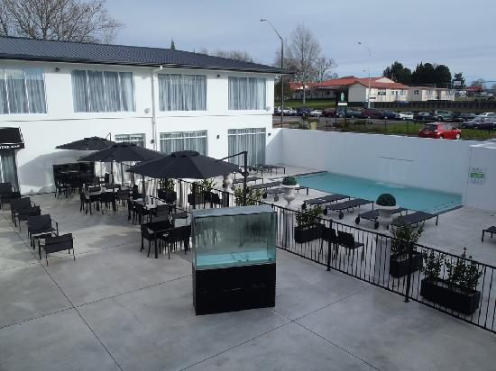 Regent of Rotorua: The relaxing pool