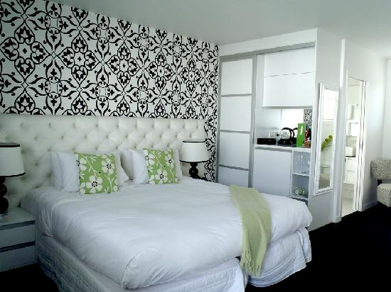 Regent of Rotorua: Chic design room where we spend 2 nights