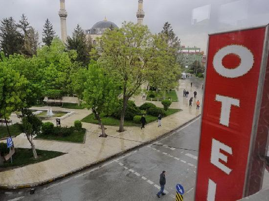 Otel Cinar: View from the window
