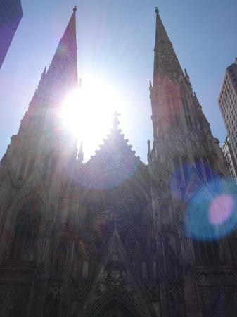 St. Patrick's Cathedral: Desde enfrente