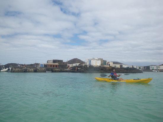 Kayak Fuerteventura: laguna de lobos