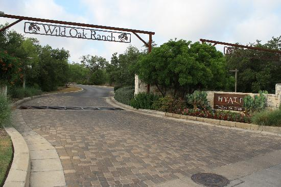 Entrance Picture Of Hyatt Residence Club San Antonio