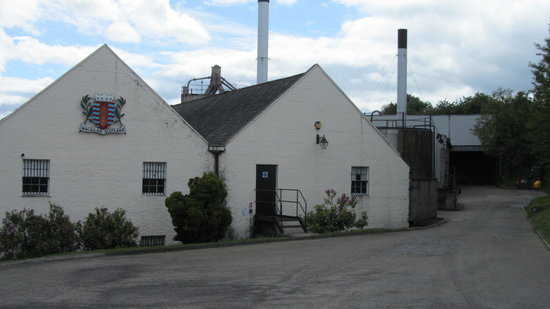 The Macallan Distillery: Macallan distilleries buildings