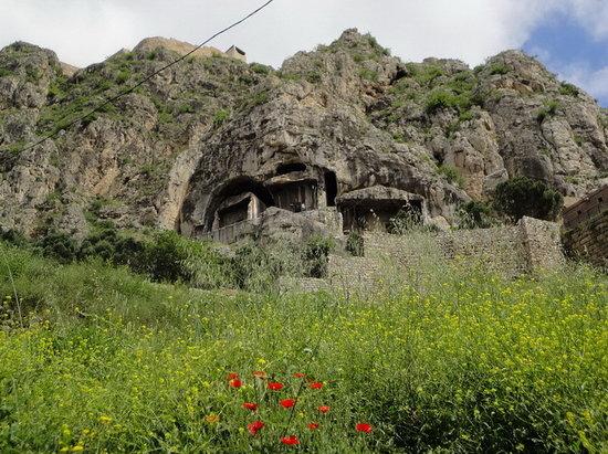 Amasya, Turquía: pontic tomb 4