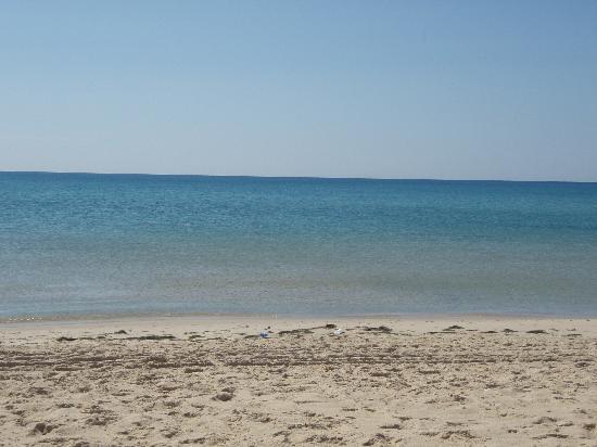 Samira Club: der Strand