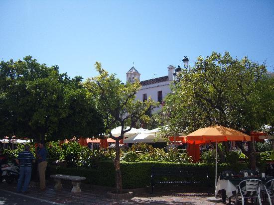 Marbella Old Quarter: main sq