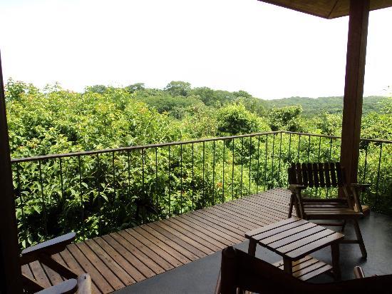 Hotel Luna Azul: Balcony