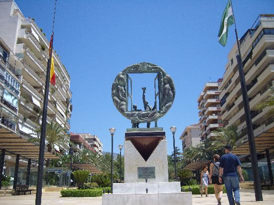 Marbella, Spain: monument