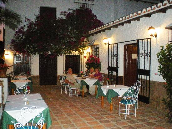 La Noria: The pretty terrace