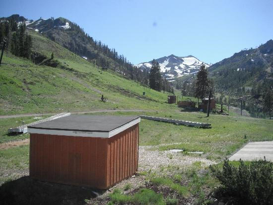 Red Wolf Lodge at Squaw Valley: view from living room window