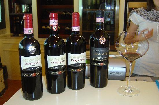 Castello di Radda: Great wines...