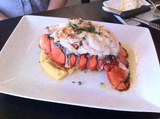 Chez Chose : Lobster tail appetizer with lavender butter