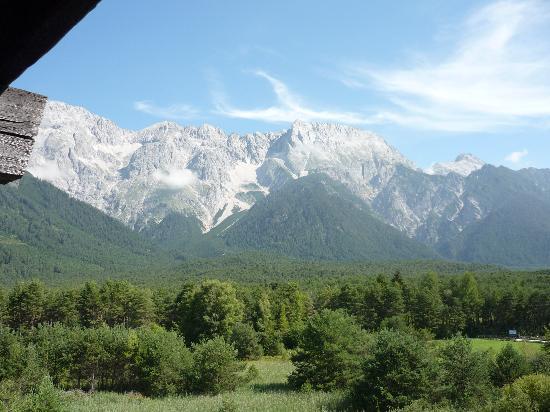 Hotel Kaysers Tirolresort: Ausblick vom Balkon