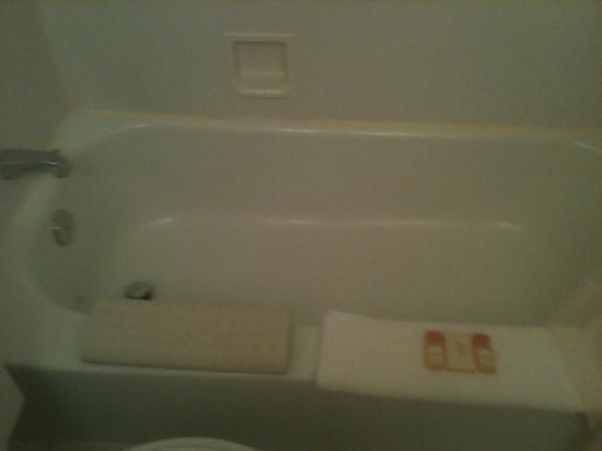 Days Inn Atlantic City Oceanfront-Boardwalk: bath tub very clean