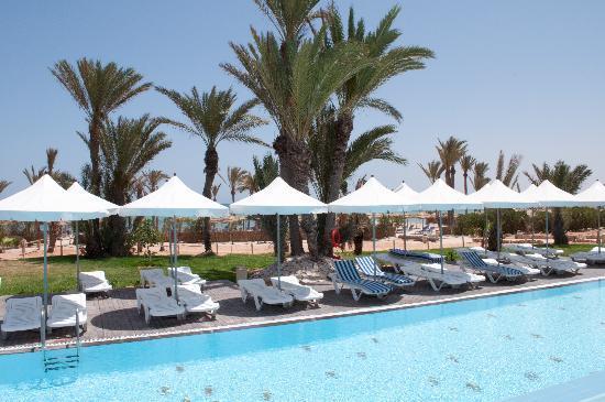 Hotel Palm Azur: Quiet pool