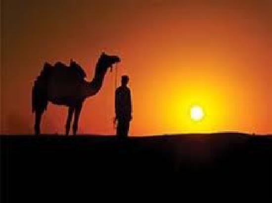 Suryagarh: mesmerising sunset