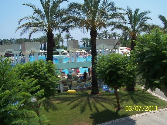 Pegasos World Hotel: view from our room