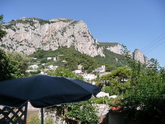 Villa Palomba: Dalla terrazza della colazione